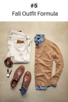 10 Coolest Outfit Formulas You Can Wear This Fall #mens #fashion #style