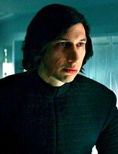 "sansacat: ""reylooo: ""Kylo Ren in ""The Last Jedi"" (close-up) "" I'm always amazed by how much his eyes convey. """
