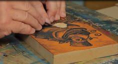 In this video, Artist & Professor, Franz Spohn, demonstrates the process of lino & printmaking. Also included, Tool Safety and how to sharpen your SK130 Flex...