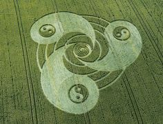 SYMBOL OF YIN - YANG DUALITY.........CROP CIRCLE........PARTAGE OF RODHY CRESPIN..........