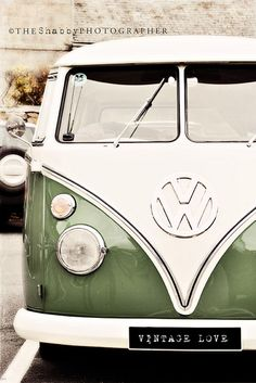 Vintage VW Bus -- Beautiful condition Green is the best colour