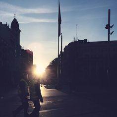-- THE START OF THE DAY -- #amañeceres  Buenos días!  [#albertosierra_mobilephotography]
