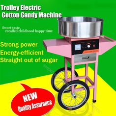 243.05$  Watch here - http://alixom.worldwells.pw/go.php?t=32700527136 - Trolley Electric Cotton Candy Machine FM-01 cotton floss machine with Trolley cotton Candy Maker