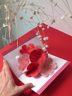 Tarjeta de San Valentín pop-up: Tutorial / S. Valentine pop-up card: Tutorial