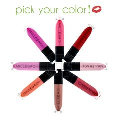 Nouba Millebaci Long Lasting Lip Color... only the greatest lip stain on the market!