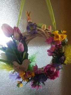 velikonoční jarní věnec moje práce