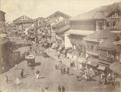 Bhindi Bazaar, Bombay - 1880s
