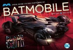 Other Sci-Fi Models and Kits 1193: Moebius 964 Suicide Squad Batmobile Special Edition Plastic Model Kit 1 25 -> BUY IT NOW ONLY: $34.25 on eBay!