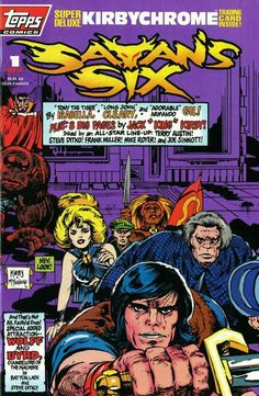 Satan's Six (Topps Comics, 1993) #1 signed by Tony Isabella