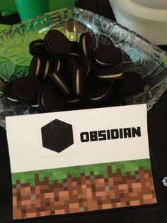 MineCraft Birthday Party Ideas | Photo 39 of 47 | Catch My Party