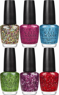 #nails #sparkle OPI muppets.... i have the multi sparkle, but i want them all!!!