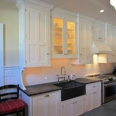 Cabinets Over Sink kitchens without windows - google search | kitchen sinks with no