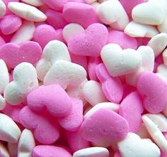 White Pink hearts ... @rt&misi@.