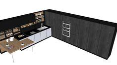 tủ bếp - 3D Warehouse