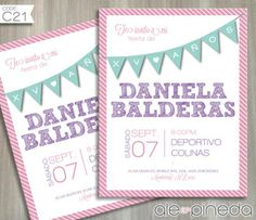 Invitación XV años (Quinceañera)  www.alepineda.com
