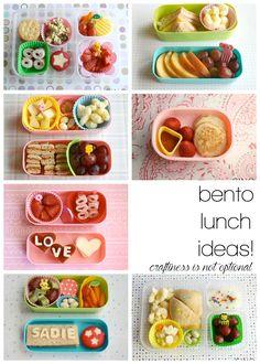 more bento lunch ideas!