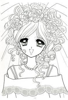 Japanese Shoujo Coloring Book 3 - Mama Mia - Picasa Web Albums
