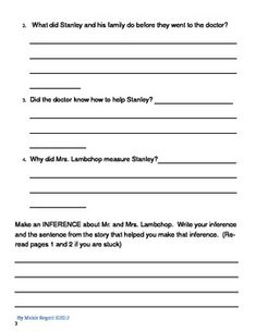 Reading, Writing, Geography (and MORE) With Flat Stanley | Pinterest ...