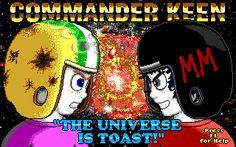 Commander Keen – Download Fan-Made Episodes 7, 8 and 9 #gaming #keen #retro