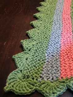 Free Crochet Pattern Afghan Edging : 1000+ ideas about Crochet Edging Patterns on Pinterest ...