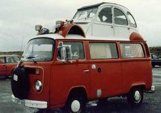 VW COMBI 2cv campervan.