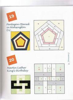 The top one: 365 Foundation Quilt Blocks - Carme Santana - Picasa Web Albums