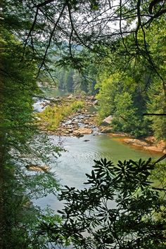 Middlefork River Audra State Park. Moms childhood memories. Going to middlefork river in West Virginia and laying on the big rocks in the river. There was one shaped like a bathtub she said. :)