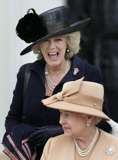 Long live Camilla and the Queen!