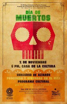 Noviembre 2: 6pm @ Casa de la Cultura Puerto Peñasco,