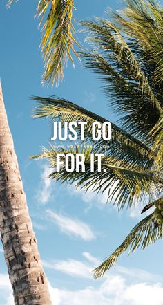 Just go for it. Head over to www.V3Apparel.com/MadeToMotivate to download this wallpaper and many more for motivation on the go! / Fitness Motivation / Workout Quotes / Gym Inspiration / Motivational Quotes / Motivation