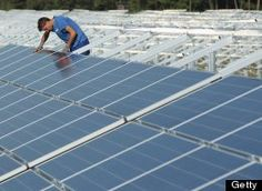 Europe installing most solar panels ahead of China and U.S. lagging behind.