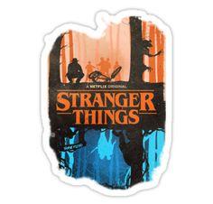 Stranger Things Eleven Sticker By Mrbr8side Strange