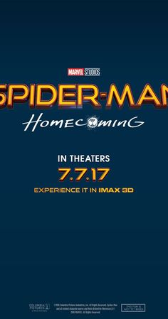 Directed by Jon Watts.  With Tom Holland, Donald Glover, Marisa Tomei, Robert Downey Jr.. A young Peter Parker/Spider-Man begins to navigate his newfound identity as the web-slinging superhero.