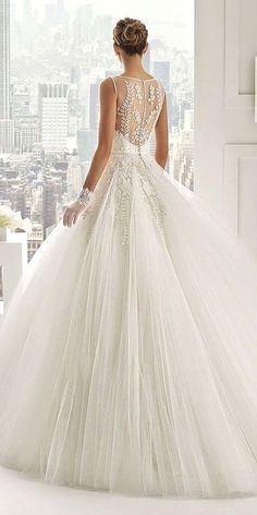 Disney Wedding Dresses For Fairy Tale Inspiration ❤ See more: www.weddingforwar... #weddings