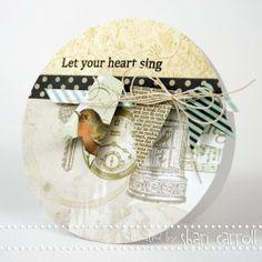 ...my world: BasicGrey Serenade Blog Hop!
