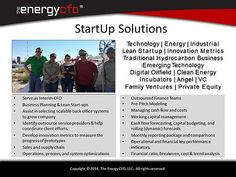 The Energy CFO provides financial leadership solutions to energy and technology startups through flexible cost effective engagements.