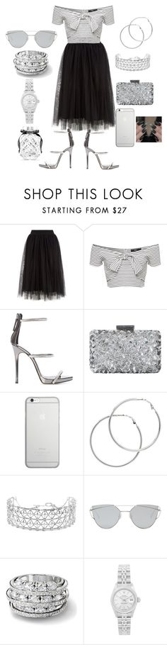 """GOSPEL SINGING GROUP"" by aleckmhopkins on Polyvore featuring Giuseppe Zanotti, Oscar de la Renta, Native Union, Melissa Odabash, Co.Ro, Gentle Monster, Rolex and Victoria's Secret"