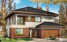 Projekt Topaz to elegancki, piętrowy dom jednorodzinny. Budynek o nowoczesnej acz nie przesadzonej architekturze. Projekt domu Topaz występuje w dwóch wersjach wariantowych, ze zróżnicowaną częścią frontową. Bryła budynku jest urozmaicona kilkoma użytymi materiałami, wykuszami i daszkami. Wejście do mieszkania zostało zaakcentowane podcieniem z łukową boczną ścianą z klinkieru.