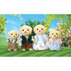 Sylvanian Families - Golden Labrador Family