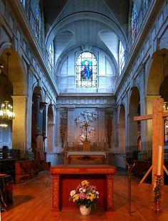 P1060556 Paris XI église Sainte-Marguerite autel rwk - Église Sainte-Marguerite de Paris — Wikipédia