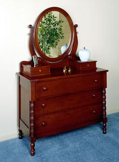 Lillian Russell Bedroom Furniture : Explore Vintage Bedrooms, Dresser With Mirror, and more!