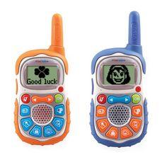 VTech KidiTalkie Walkie Talkies Child-size walkie-talkies with a talking - The Independent Walkie Talkie, Toys, Radios, Kid Stuff, Christmas Ideas, Child, Entertainment, Style, Design