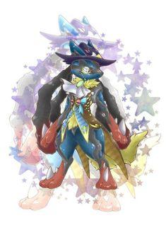 Mega Lucario Artist by Best Pokemon Ever, Cool Pokemon, Pokemon Fan, Mega Lucario, Lucario Pokemon, Pokemon Backgrounds, Original Pokemon, Cool Art, Yellow