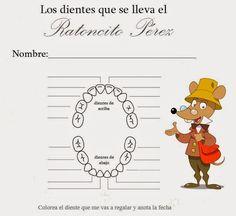 Carta del Ratoncito Pérez - Buscar con Google Tooth Fairy, Office Decor, Activities For Kids, Scrapbook, Diy, Bodo, Google, Ideas Para, Humor