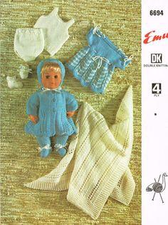 73 Best Vintage Doll Knitting Patterns Images In 2019