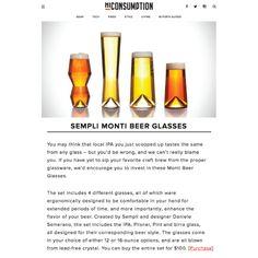 @hiconsumption Thanks for the shoutout!  #Sempli #Monti-Taste #beer