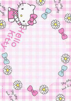 Sanrio Hello Kitty Memo (2015) | by Crazy Sugarbunny Hello Kitty Themes, Hello Kitty Pictures, Hello Kitty Backgrounds, Hello Kitty Wallpaper, Hallo Kitty, Hello Kitty Birthday, Thanks Card, Hello Kitty Collection, Cat Party