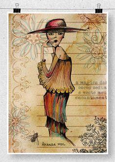 Ilustração | A mágica das cores