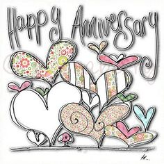 hearts and script anniversary anniversary gifts pinterest