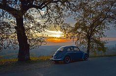 #tramonto #sunset #maggiolino #callook